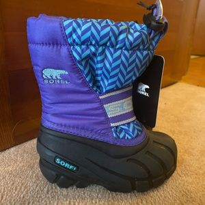 New girls sorel winter boots